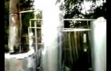 Benzin – Diesel aus Plastik Müll – eigene Produktion,home made