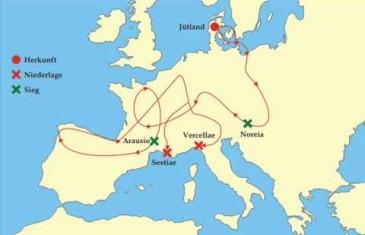 Deutsche Geschichte Kapitel 2 – Die Germanen in Verteidigung und Angriff Teil 1
