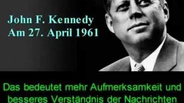 Kennedy und Eisenhower -Die vergessenen Warnungen