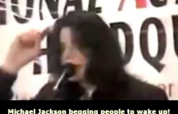 Michael Jacksons warning people to wake up