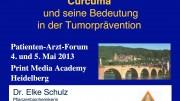Curcuma und seine Bedeutung in der Tumorprävention